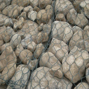 Hexagonal Gabion Wire Mesh PVC Coating pictures & photos