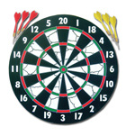 Paper Dartboard (FD-004) pictures & photos