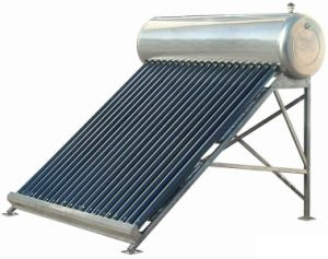 Low Pressure 304 Stainless Steel Solar Water Heater with Italy CE pictures & photos