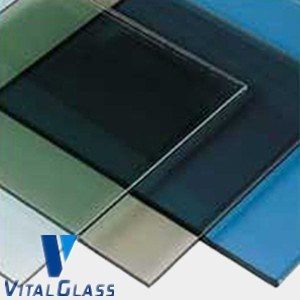 Toughened/Tempered Reflective Glass with CE&ISO9001 pictures & photos