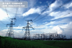 Power Plant / Angle Steel Tower / Transmission Tower / Mild Steel / Galvanized Steel (STC-T013)