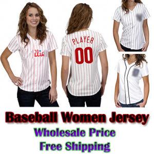 Women′s Baseball Shirts Jersey (WM-BS-5748)