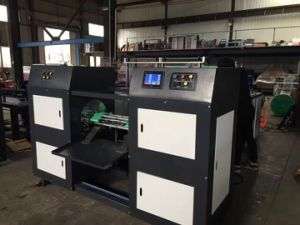 Full Automatic Lap Rolling Bag Making Machine pictures & photos