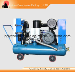 Belt Driven Portable Screw Air Compressor pictures & photos