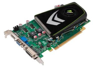 Geforce Graphic Card PCI-E GDDR5 512MB (GT240)