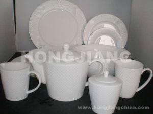 Bone China Dinner Set (HJ068011) pictures & photos