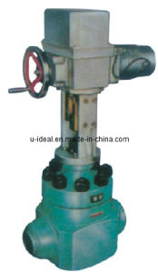 Boiler Feed Water Control Valve/Feed Water Regulating Valveboiler Control Valve Subcontrol Valve, Control Valve and Hydraulic Control Valve. pictures & photos