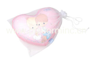 Transfer Printing Heart Pillow