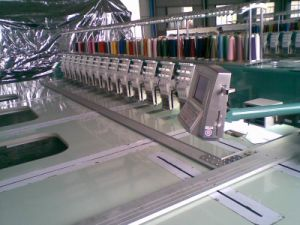 Flat Computerized Embroidery Machine