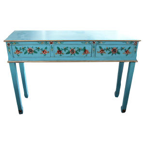 Antique Furniture Painting Long Drawer Table Lwd241 pictures & photos