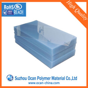 Rigid Plastic Transparent/Clear PVC Sheet for Offset Printing pictures & photos