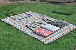 PP Woven Portable Picnic Mat for Promotion pictures & photos
