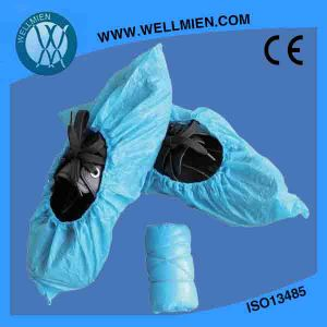 Plastic Disposable Medical Use Shoe Cover pictures & photos
