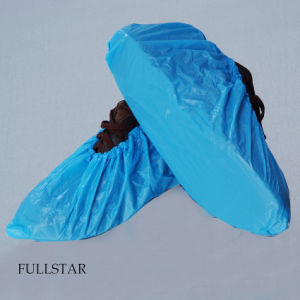 Disposable CPE Shoe Covers Overshoes pictures & photos