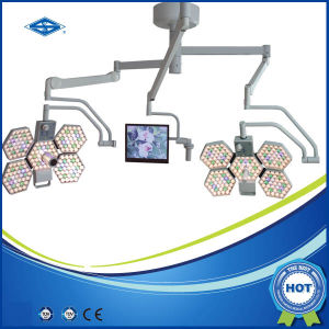 Factory Price of LED Shadowless Surgical Operating Light (SY02-LED5+5-TV) pictures & photos