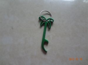 Aluminum Bottle Opener with Keychain for Gift Usf3352