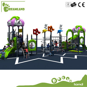 Plastic Slide Small Playground Kids Outdoor Playground pictures & photos