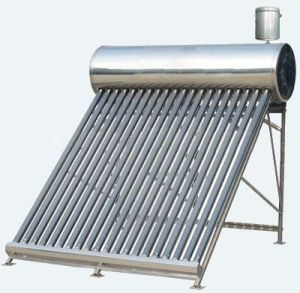 Full Stainless Steel Unpressurized Solar Water Heater with Coc Certicicate pictures & photos
