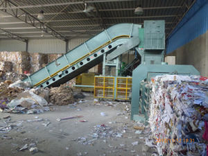 Waste Paper Automatic Baler with High Quality pictures & photos