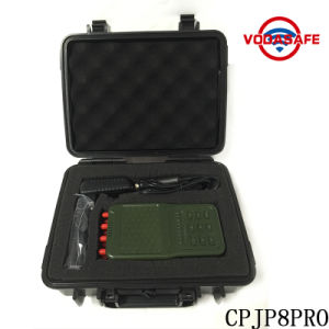 Newest Portable Hanheld High Power 8-Channel Cellphone 2g 3G 4G GSM CDMA Signal WiFi Radio Lojack Jammer pictures & photos