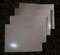 Water Slide Paper (Blank)