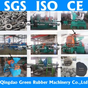 Waste Tire Recycling Line 5~120 Mesh