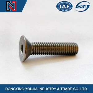Alibaba Hot Sale DIN7991 Hexagon Socket Countersunk Flat Cap Head Screw pictures & photos