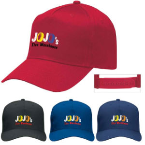 5 Panels Printed Cottton Golf Cap pictures & photos