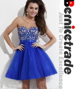 Mini Blue Prom Cocktail Homecoming Dresses