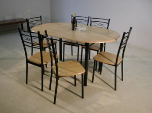 China Dining Table And Chair Set 1 6 DRS4058 China