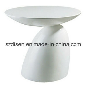 White Parabel Round Side Table (DS-CT45(2)) pictures & photos