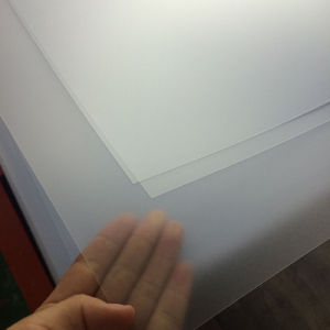 Transparent Embossed PVC Sheet for Offset Printing pictures & photos