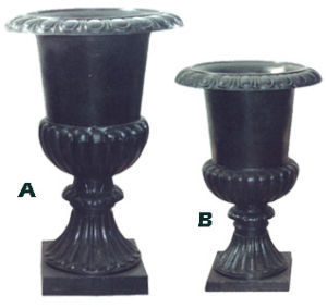 Cast Iron Flower Pot pictures & photos