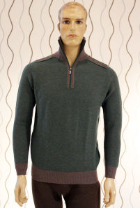 Knitted Pullover Open Collar Yak / 85% Yak &15%Wool/Yak Wool Sweater/Clothing/Textile pictures & photos