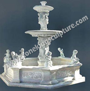 Hand Carved Marble Water Fountain for Outdoor pictures & photos