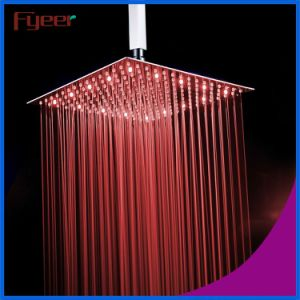 Fyeer 2016 New 16 Inch Ultra Thin LED Shower Head pictures & photos