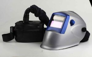 Powered Air Purifying Solar Auto-Darkening Welding Helmet (WHAD801) pictures & photos