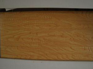 HDF Synchronized Walnut Laminate Flooring pictures & photos