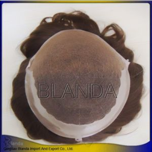 Brazilian Human Hair Men Toupee or Hair Packaging