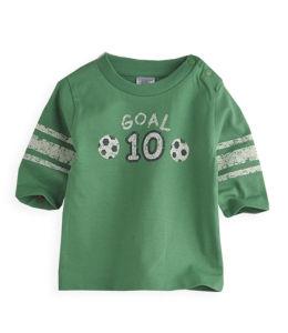 Boy′s T-Shirt, 100%Cotton Blue Round Neck T-Shirt