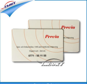 Laminated PVC Card with Card Number and Barcode pictures & photos