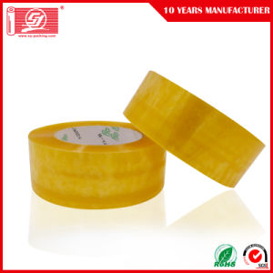 50mic Water Based Acrylic Adhesive Clear BOPP Packing Tapes 120rolls in a Carton pictures & photos