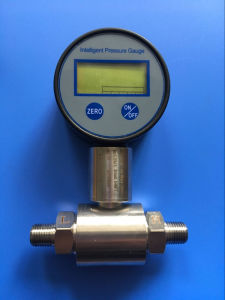 Digital Pressure Gauge for Gas and Liquids pictures & photos