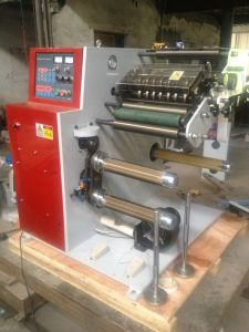 Slitting Machine with Turret Rewinding Shafts pictures & photos