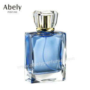 Leather Attached Perfume Bottles Glass Jar for High Standard Perfume Packaging pictures & photos