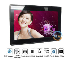 High Quality 15.6′′ Digital Photo Frame with Auto Video Play (MW-1505DPF) pictures & photos