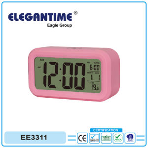Hot Sale Display with Big Digital Electronic Clock Touch Light pictures & photos