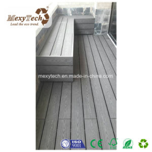Outdoor Wood Grain Waterproof Customized WPC Composite Decking pictures & photos
