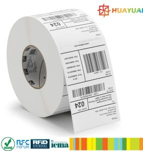 860~960MHz EPC GEN2 Impinj E52 Adhesive Label UHF RFID TAG pictures & photos