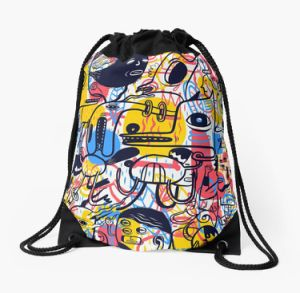 Fashion Custom Oxford Cloth Sports Drawstring Bag pictures & photos